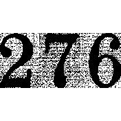 Ephemera Number Bit 04 Tile