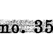 Ephemera Number Bit 05 Tile