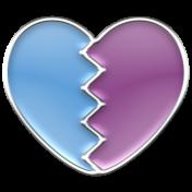 Enamel Pieces Kit 1- Broken Heart 01