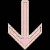 BYB Elements Birch Arrow 1b pink
