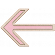BYB Elements Birch Arrow 1c pink