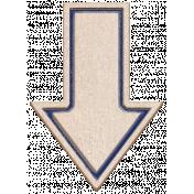 BYB Elements Birch Arrow 2b navy