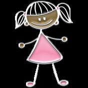 Enamel Girl- 3
