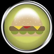Food Day Collab BBQ flair hamburger