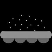 Hamburger Charm Template