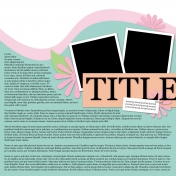 Layout Template 774 Journal