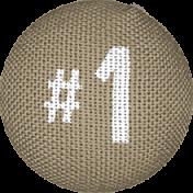 Scraps Bundle 4 Elements- Button 3