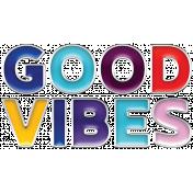 Good Vibes - Enamel Good Vibes