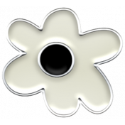 Good Vibes - Enamel Flower 7