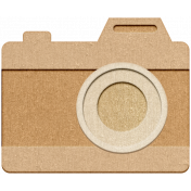 Good Vibes- Chipboard Camera