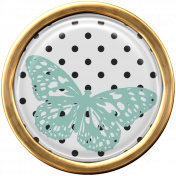 Seriously Butterflies Elements-Round Brad 01