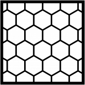 Cut File 12 4x4 Hexagons