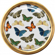Seriously Butterflies Elements-Round Brad 02