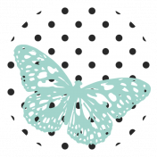 Seriously Butterflies Elements- Circle 10