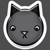 BYB Animals- Cat Sticker 1