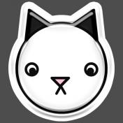 BYB Animals- Cat Sticker 2