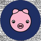 BYB Animals- Pig Circle