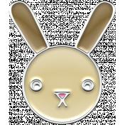 BYB Animals- Enamel Bunny
