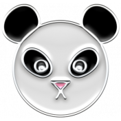 BYB Animals- Enamel Panda