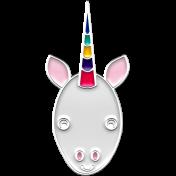 BYB Animals- Enamel Unicorn