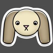 BYB Animals- Dog Sticker 2