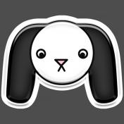 BYB Animals- Dog Sticker 1