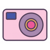 Digital Day Flat Kit- Camera Sticker