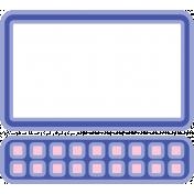 Digital Day Flat Kit- Computer Sticker