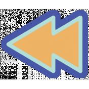Digital Day Flat Kit- Rewind Sticker