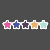 Digital Day Flat Kit- Stars Sticker