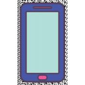 Digital Day Flat Kit- Phone Sticker