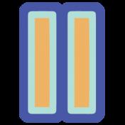 Digital Day Flat Kit- Pause Sticker