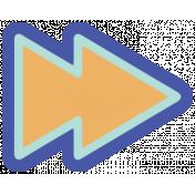 Digital Day Flat Kit- Fast Forward Sticker