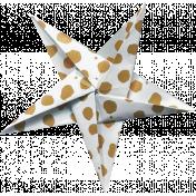 Digital Day Elements- Folded Star