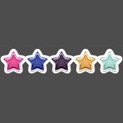Digital Day Elements- Plastic Stars