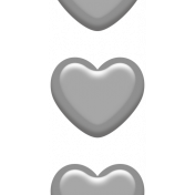 Grab Bag #11 Template- Enamel Hearts
