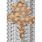Pumpking Spice Wood Veneers- Leaf 2