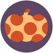 Pumpkin Spice Print Kit- Circle 1