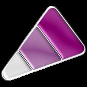 Halloween Enamel Pin- Candy Corn 2