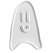 Halloween Enamel Pin- Ghost 1
