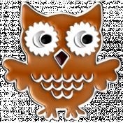 Halloween Enamel Pin- Owl