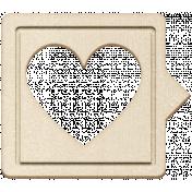 Grab Bag #13 Templates- Heart Bubble 4 Chipboard