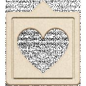 Grab Bag #13 Templates- Heart Bubble 3 Chipboard