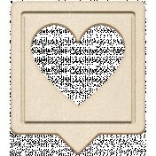 Grab Bag #13 Templates- Heart Bubble 2 Chipboard