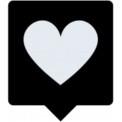 Grab Bag #13 Templates- Heart Bubble 2