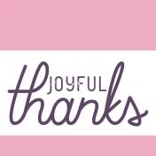 Day of Thanks Print Kit- Label 1