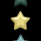 Day of Thanks Elements- Enamel Stars