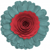 Day of Thanks Elements- Layered Flower 2