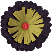 Day of Thanks Elements- Layered Flower 3