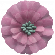 Day of Thanks Elements- Pink Flower
